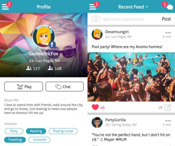Anomo Social Network: Get to Know Someone Before Revealing Everything