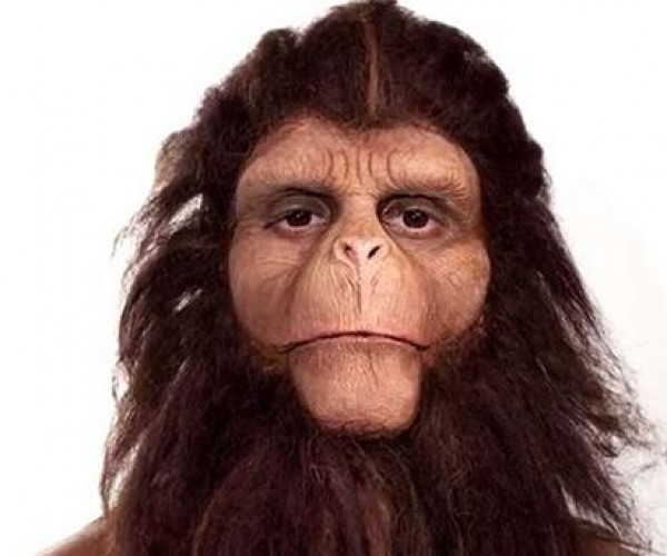 Watch a Man Turn into an Ape in Three Minutes
