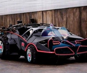 1960′s TV Show Batmobile / Tumbler Mashup