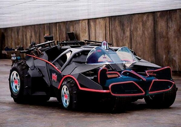batmobile mashup