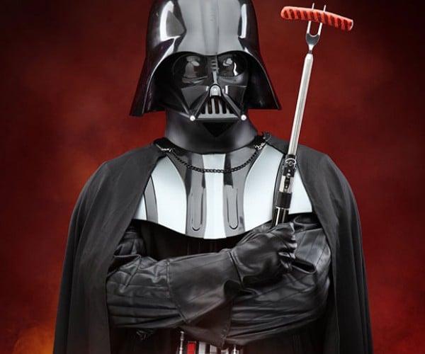 Darth Vader Lightsaber BBQ Fork: The Dark Side of the Fork