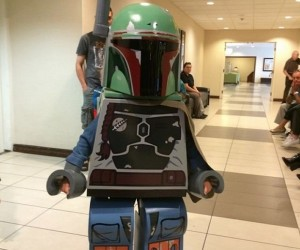 LEGO Boba Fett Cosplay: He's No Good to Me Full Size