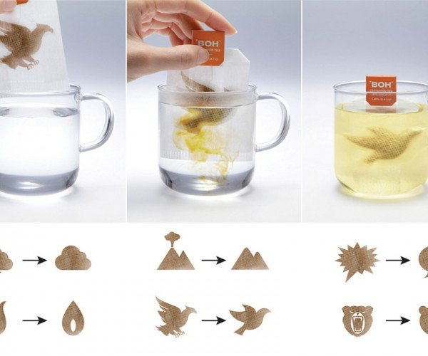 Tea Bags Go from Stressed to Relax, Just Like You With Your Cup of Tea
