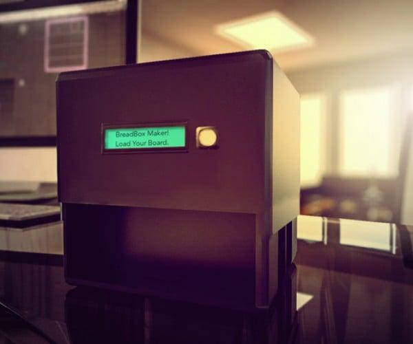 BreadBox Desktop Circuit Board Maker: Etchanting