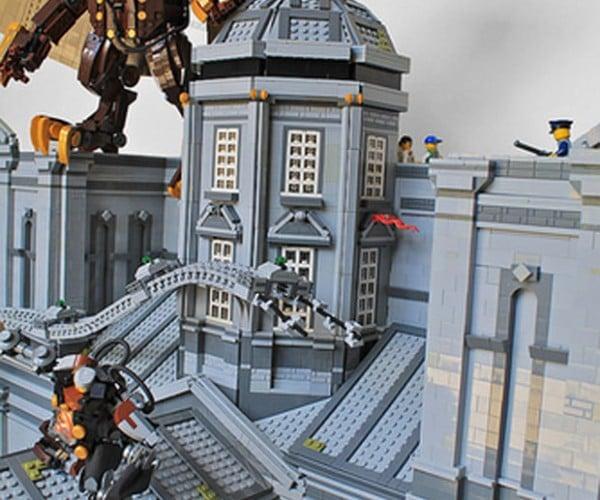LEGO BioShock Infinite Diorama: Columbricka
