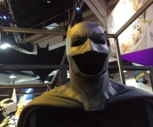 Batfleck's Cape and Cowl Shown at Comic-Con
