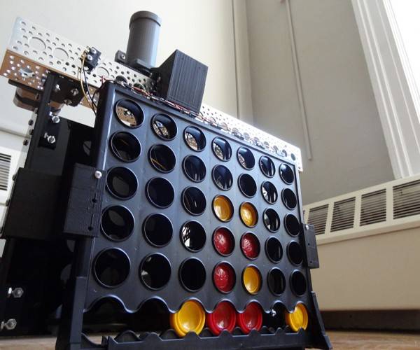 Connect Four Robot: Pretty Sneaky, Bot