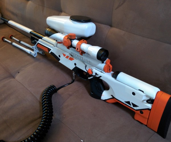 Counter-Strike Sniper Rifle Paintball Gun