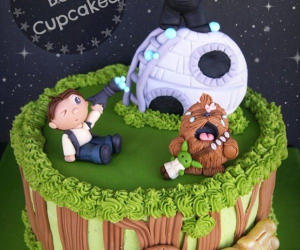 Most Adorable Star Wars Cake Ever