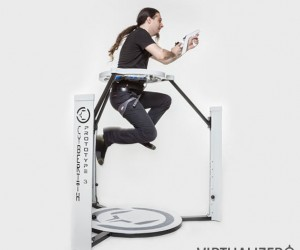 Cyberith Virtualizer VR Treadmill Virtually Funded on Kickstarter