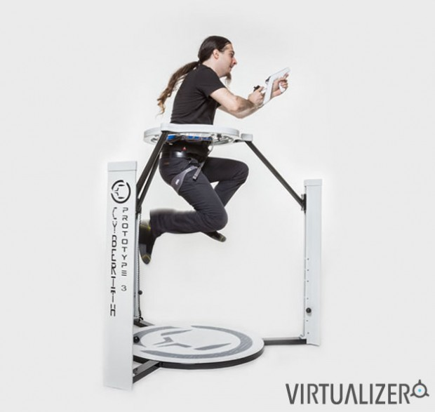 cyberith virtualizer virtual reality treadmill