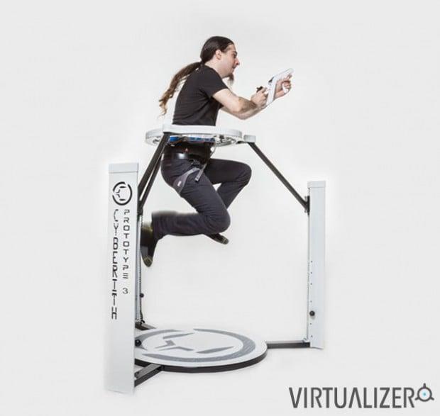 cyberith virtualizer virtual reality treadmill