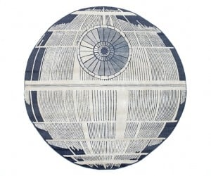 Death Star Rug: The Ultimate Power in the Universe Is Easily De-feeted
