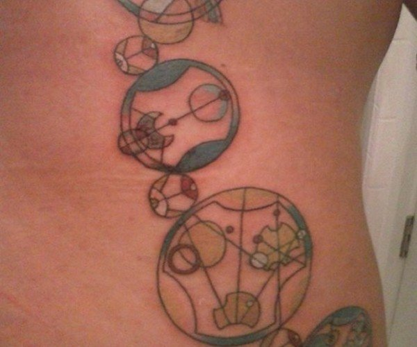 This Inspirational Doctor Who Tattoo Is Written in Gallifreyan