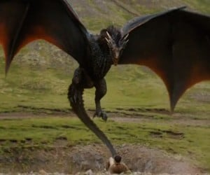 Dragons Attack Golfer in Latest Blinkbox Game of Thrones Ad