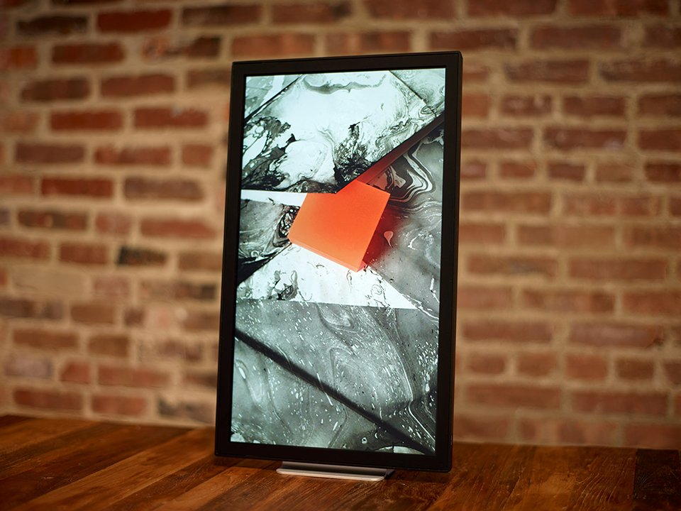 Electric Objects EO1: The iMac of Digital Picture Frames - Technabob