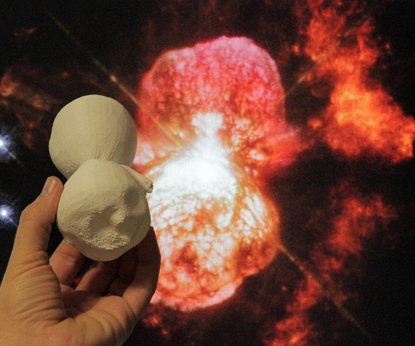 3D Printed Nebula Scale Model: Do You Want to Print a Star Cloud?