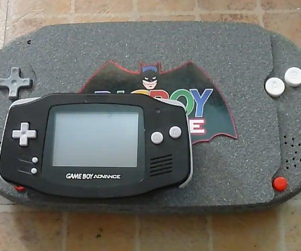 Game Boy Advance with 8″ Screen: BigBoy Advance