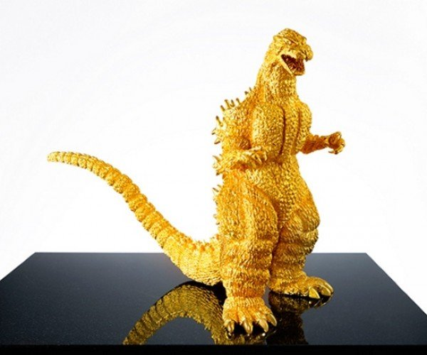 Goldzilla: A $1.5-Million Solid Gold Godzilla Statue