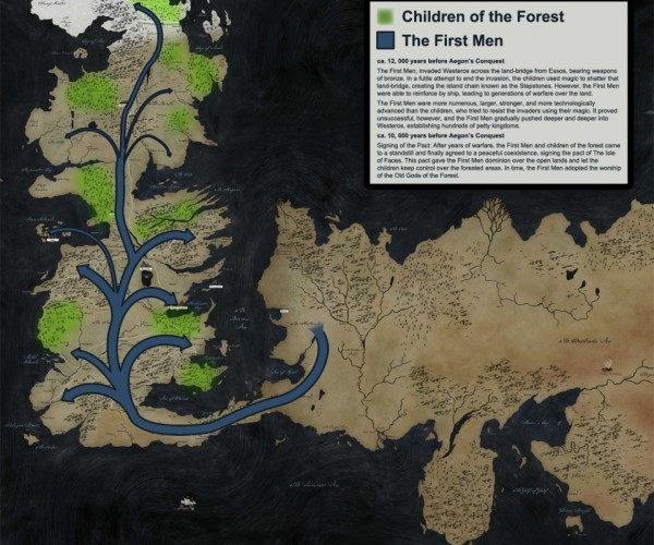 16 Game of Thrones Maps: Geography Is Coming
