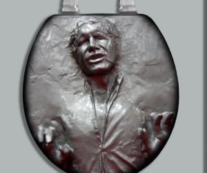 Han Sh*t First: Han Solo in Carbonite Toilet Seat