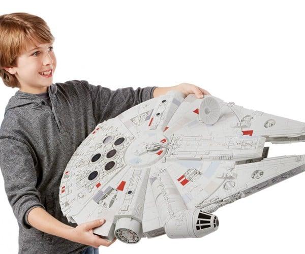 New Millennium Falcon Toy Is Gigantic