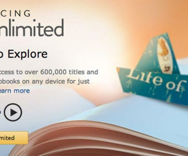 Kindle Unlimited Service Tipped by Cached Image