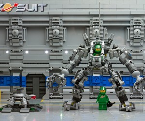 LEGO Exo Suit Now Official: 50% Bionicle, 100% Awesome