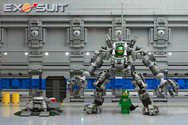 lego exo suit by peter reid 620x413