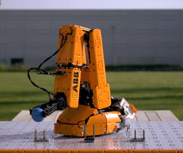LEGO Industrial Robot Replica: Inspirational Revolution