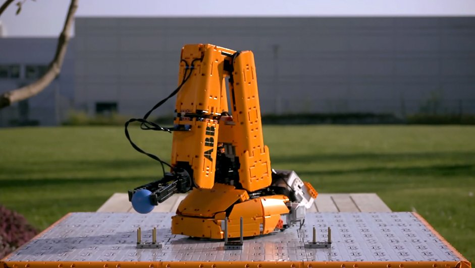 LEGO Industrial Robot Replica: Inspirational Revolution ...