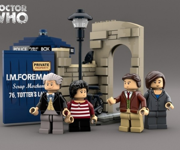 LEGO Set Recreates the First Episode of Doctor Who