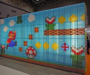 Storage Box Mario Mural: Super Storage Bros.