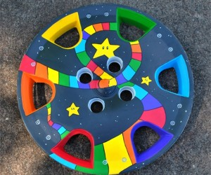 Mario Kart Hub Cap Art Will Give Luigi Something to Stare at