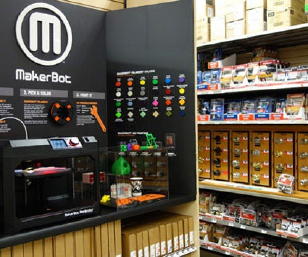 MakerBot Replicator Available in Some Home Depot Locations