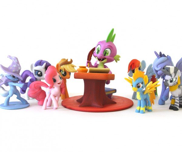 Hasbro & Shapeways Launch My Little Pony Fan Art Store: 3D Printing is Magic