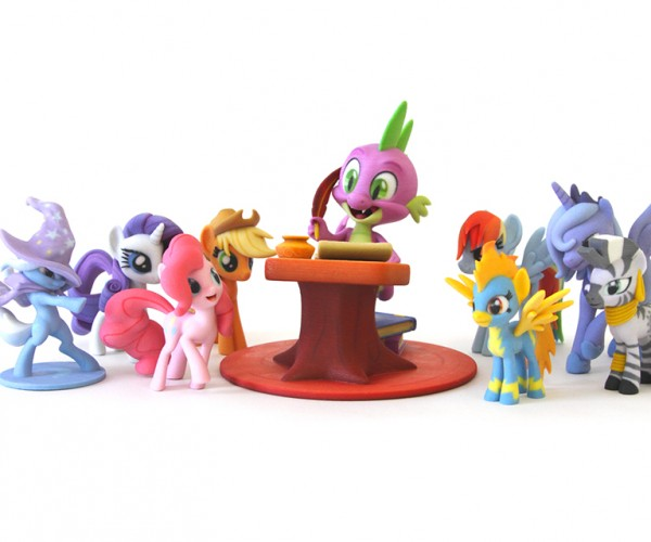 Hasbro & Shapeways Launch My Little Pony Fan Art Store: 3D Printing is Magic