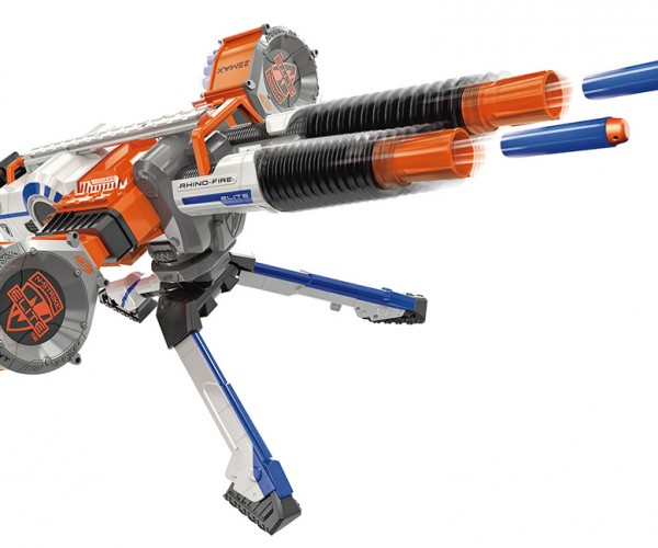 NERF N-Strike Elite Rhino-Fire Blaster is Perfect for Backyard Warfare Domination
