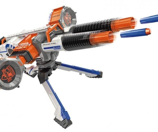 NERF N-Strike Elite Rhino-Fire Blaster is Perfect for Backyard Warfare Domination