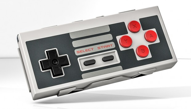 nes30 bluetooth gamepad controller by 8bitdo 620x355