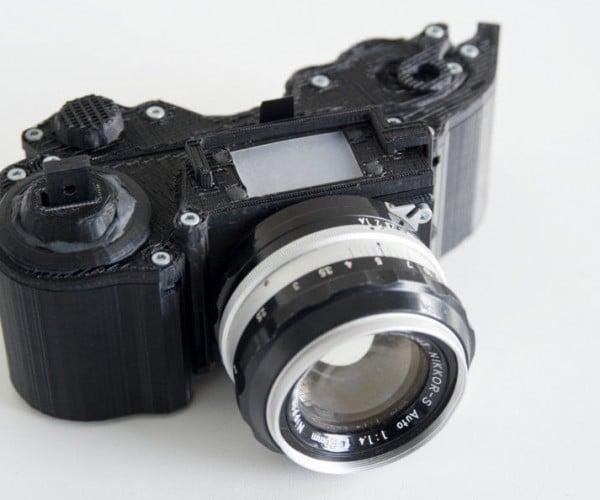 OpenReflex 3D Printed Camera: DDDSLR