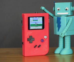 3D Printed Game Boy Case for Raspberry Pi: PiGRRL