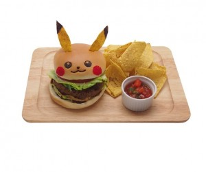 Catch a Pikachu Burger at Japan's Pikachu Cafe