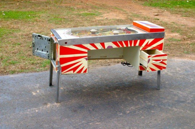 pinball table