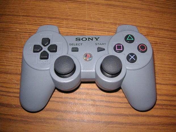 playstation dualshock 3 dualshock gray by lazermajor 620x465