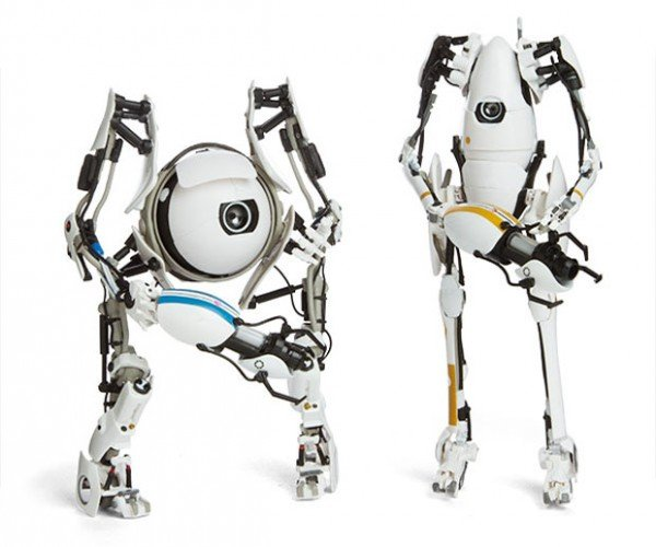 Portal 2 ATLAS and P-Body Action Figures Open a Portal to your Wallet