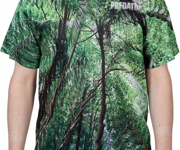 Hide from Arnold in This Predator Camouflage T-shirt
