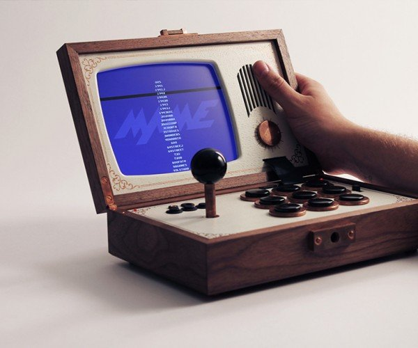 R-Kaid-R Portable Arcade: Game & Wood