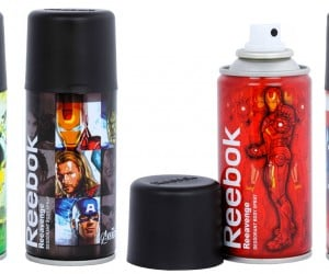 Avengers Deodorant Body Sprays: Eliminate that Superhero Stench