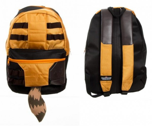 This Rocket Raccoon Backpack Will Get You Some Tail